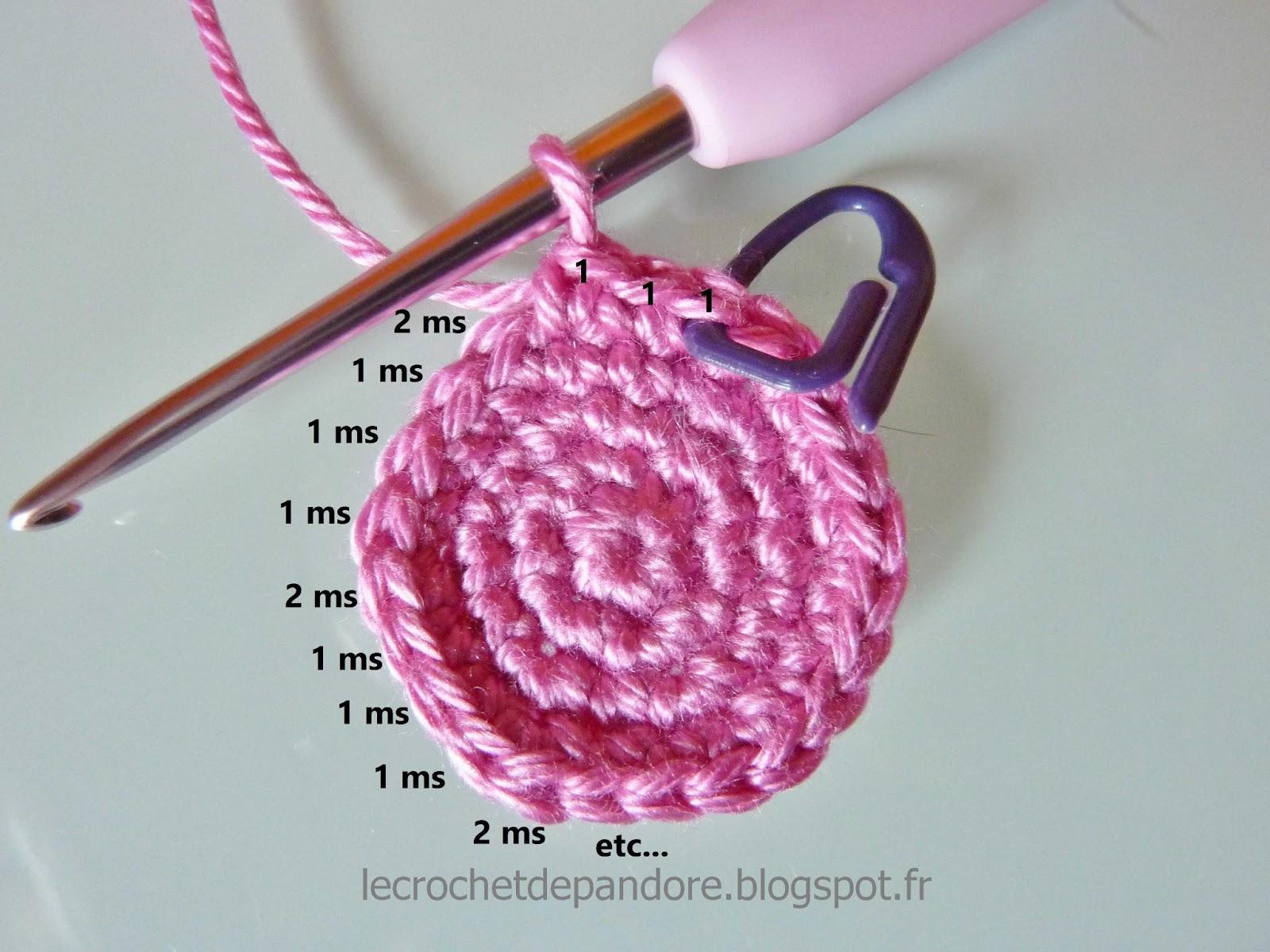 le crochet de pandore tuto d buter le crochet avec les. Black Bedroom Furniture Sets. Home Design Ideas