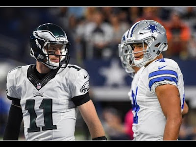 NFL : Cowboys Turn to Prescott for SNF Matchup with Eagles