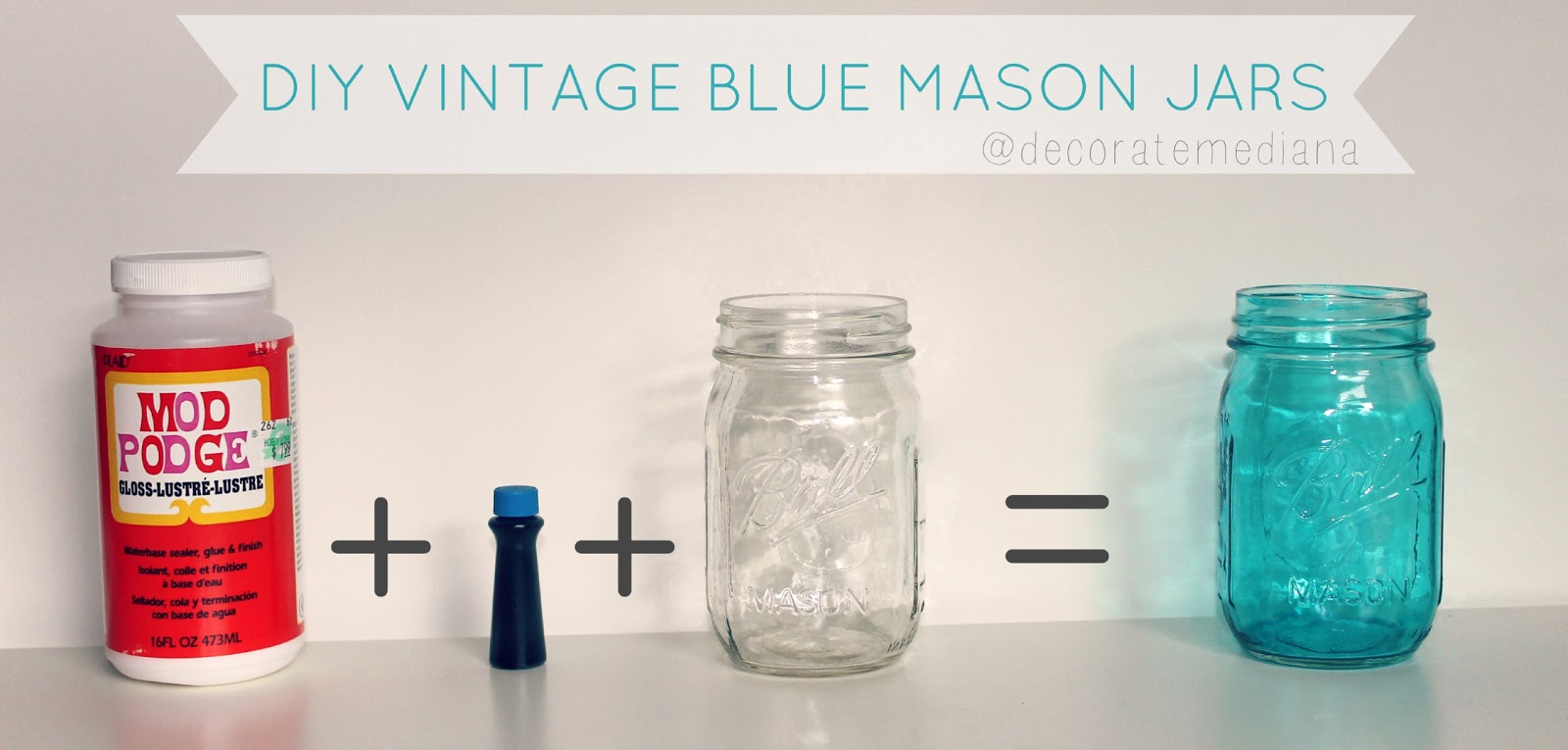 Uncategorized Tinted Jars diy colored mason jars crafthubs down oxford street blue tinted jars