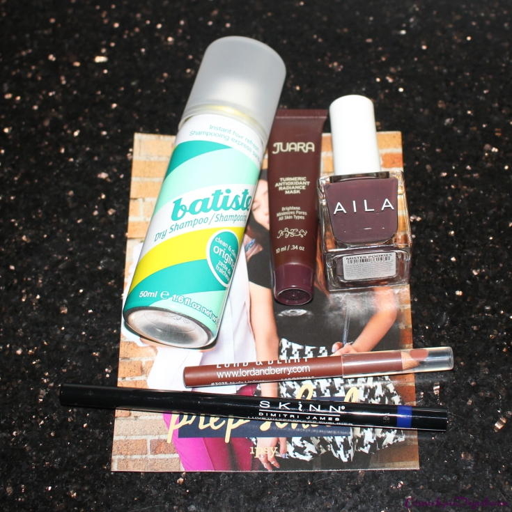 Check out the contents of my Ipsy Glam Bag for August 2015.