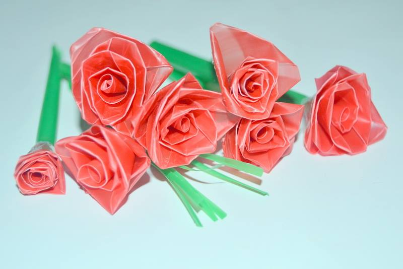 Drinking Straw Crafts Make Flowers In A Very Easy Way Recycle