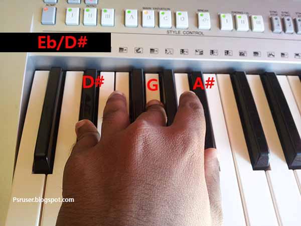 Piano piano chords of tum hi ho : Tum Hi Ho Meri Aashiqui   PSR USER