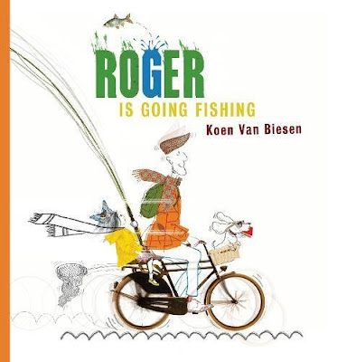 As Roger rides his bike through town, with Bob the dog in the front basket, Emily has a bit of fun in back letting the fishing pole loose and catching a few items through town.  Roger Is Going Fishing is sure to make your little guy or girl laugh!