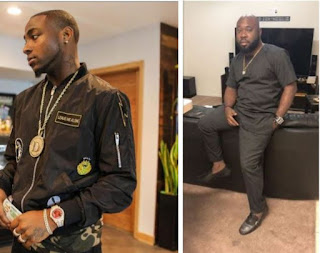 'You Are A Fraud And Hoe'- Singer Davido Exposes His Close Friend For Shading His Uncle Adeleke (Photos)