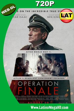 Operación final (2018) Latino HD WEB-DL 720P ()