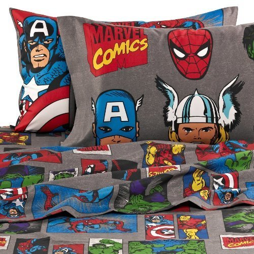 Total Fab DC Marvel Comic Superhero Rugs Bedroom Ideas