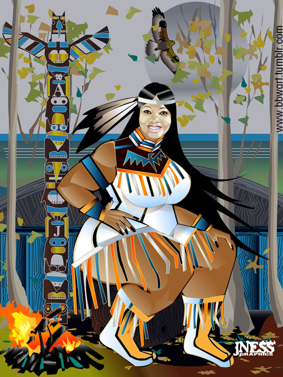 Native American Bbw 27