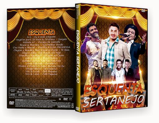 Esquenta Sertanejo 2018 – ISO – CAPA DVD