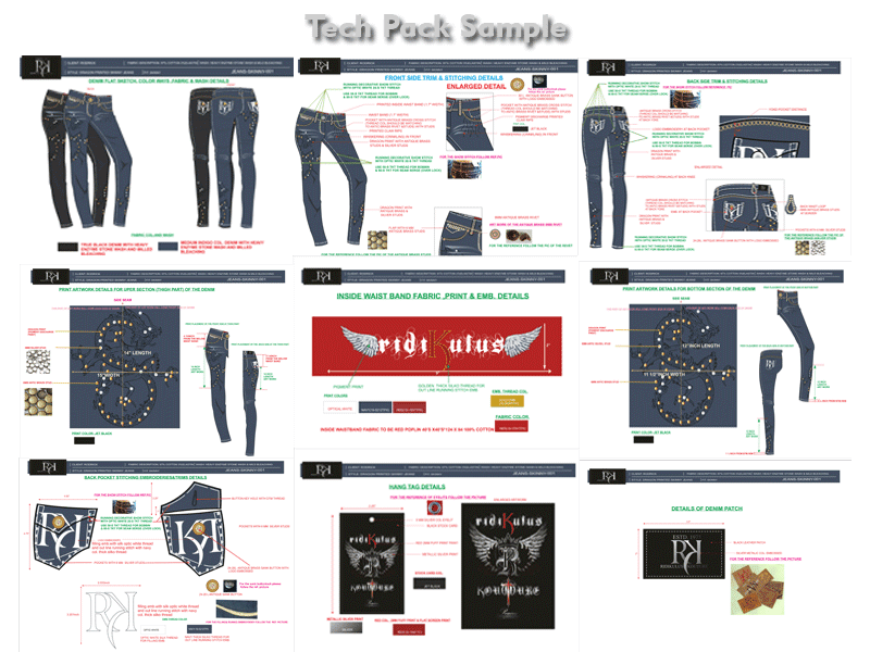 denim tech pack 5 minutes denim jeans tech pack challenge not sure if you know, our ceo saral is a bit of a denim buff you can tell by that denim techpacker shirt he wears everywhere (see it in our ig @techpacker ).