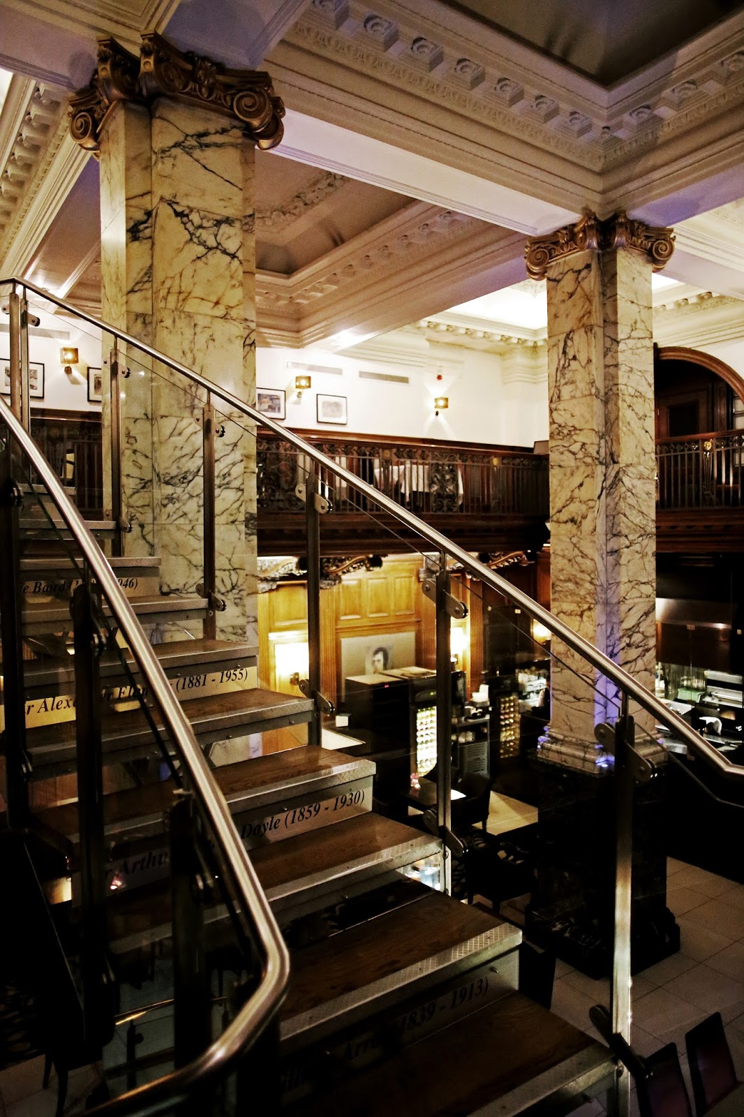 North Bridge Brasserie at The Scotsman Hotel, Edinburgh