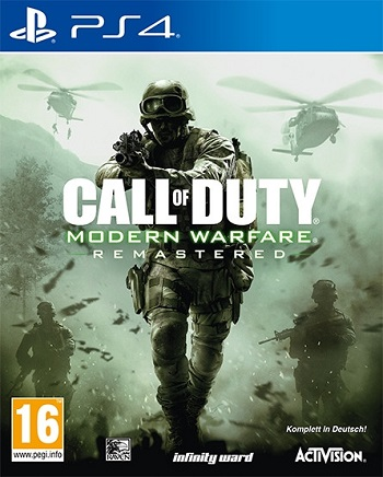 cod mw remastered ps4