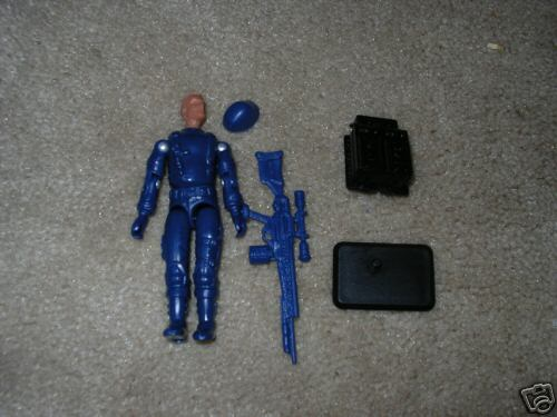 2004 Toys R Us Exclusive Cobra Trooper, Unproduced, Removable Helmet