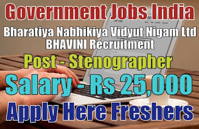 BHAVINI Recruitment 2019
