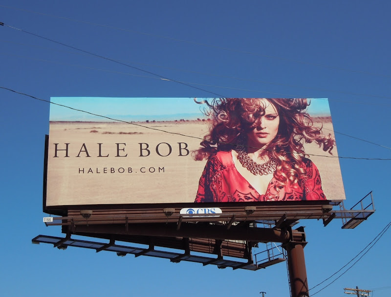Hale Bob desert model billboard