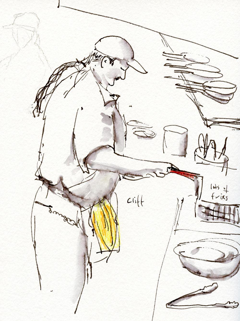 A Different Kind of Restaurant | Urban Sketchers