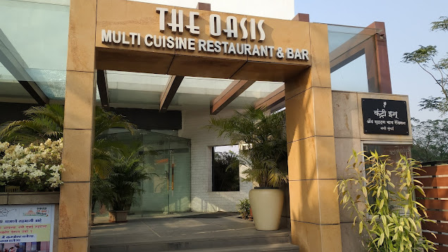 Oasis restaurant entry point