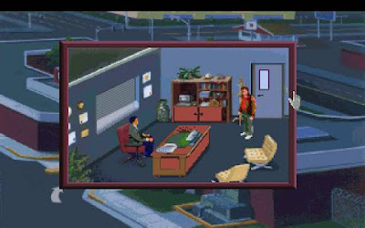 Pantallazo videojuego Police Quest 1