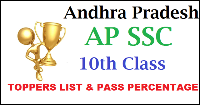 AP -SSC- 10th -Class- Toppers- List-2016