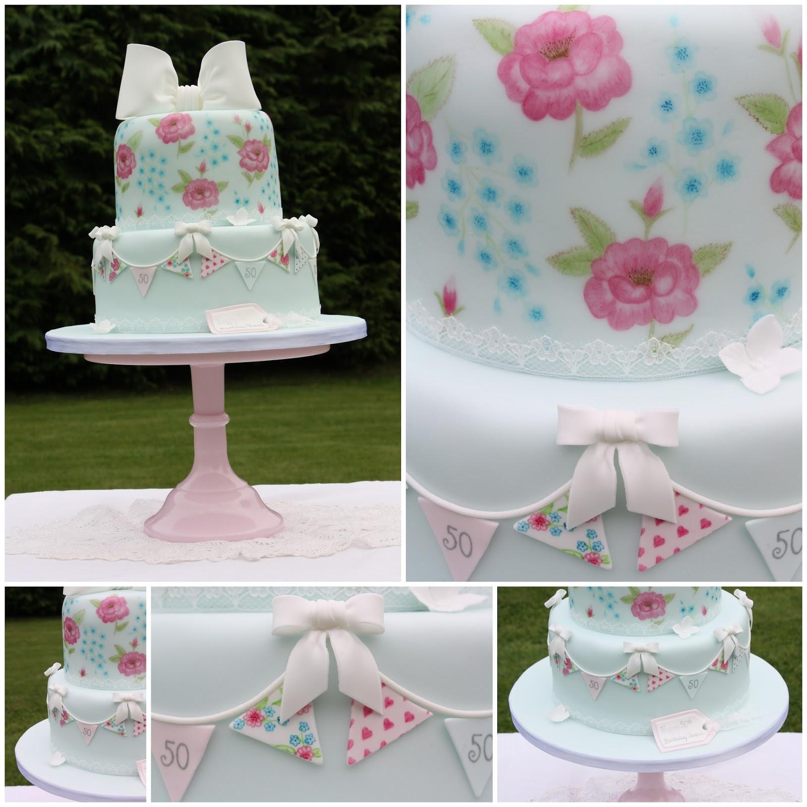 Tiers Amp Tiaras Cath Kidston Birthday Cake