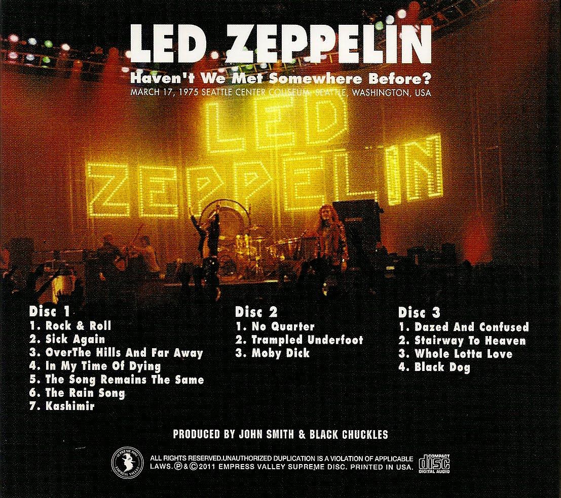 Led Zeppelin Bootleg Cover Artwork Photos Led Zeppelin
