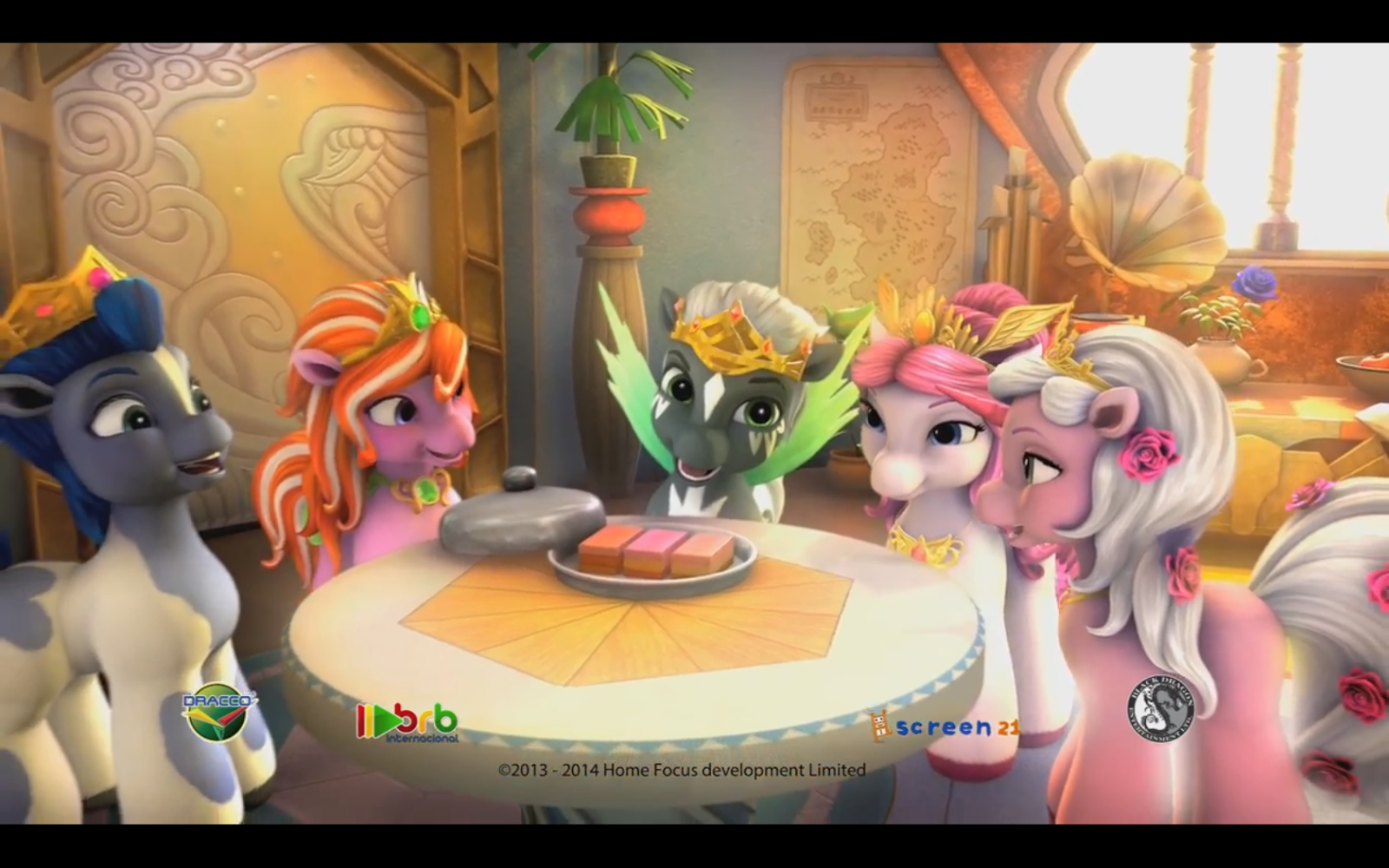 every filly around a table