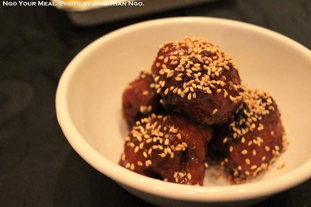 Korean Fried Cauliflower with Yuzu and Chili at Yardbird Hong Kong
