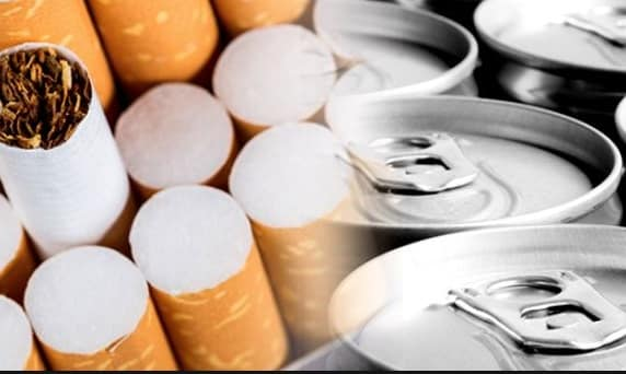 VAT ON TOBACCO PRODUCTS ENERGY AND SOFT DRINKS