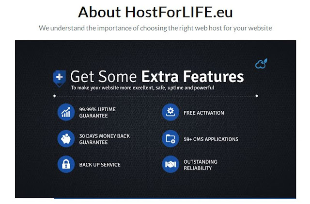 Find the Best ASP.NET MVC 6 Hosting - HostForLIFE.eu VS Fast2host