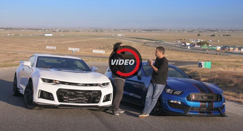 Camaro Vs Shelby Mustang Muscle Car Battle