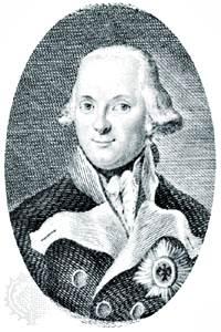 Hohenlohe-Ingelfingen, grabado de Wilhelm Arndt, c. 1795