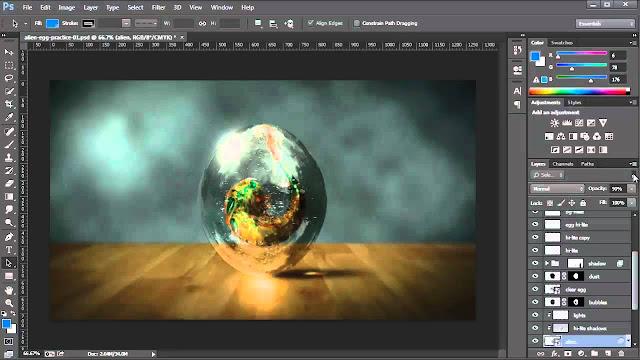 curso gratis de photoshop en línea
