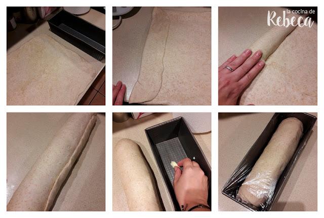 Receta de pan de molde: formado y segundo levado