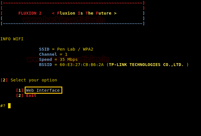 Hack Wi-Fi using Social Engineering with Fluxion (Evil Twin Attack)
