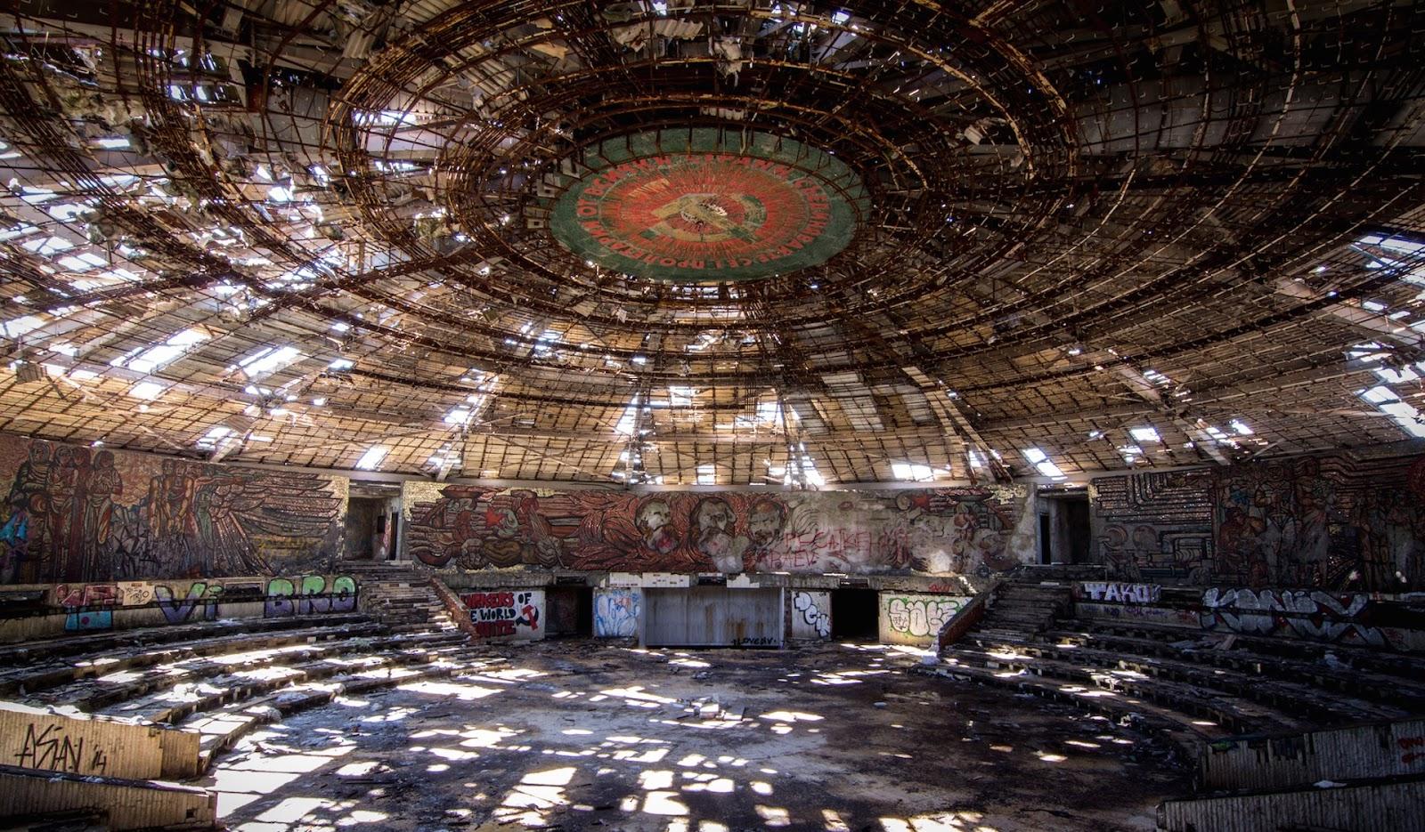 Resultado de imagen de Casa del Partido Comunista Búlgaro – Bulgaria