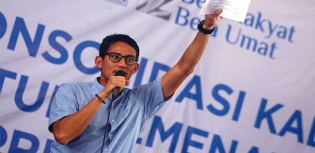 TKN Jokowi – Maruf Sebut Sandiaga Arogan