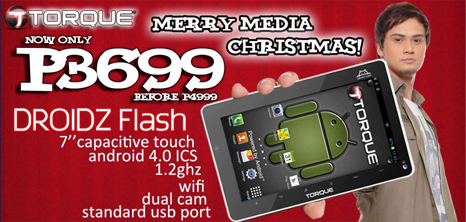 Torque Merry Media Christmas Sale