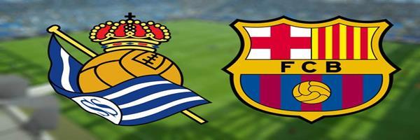 برشلونة يخطف الثلاثة نقاط من ريال سوسيداد ويحافظ على صدراتة بالدورى الإسبانى