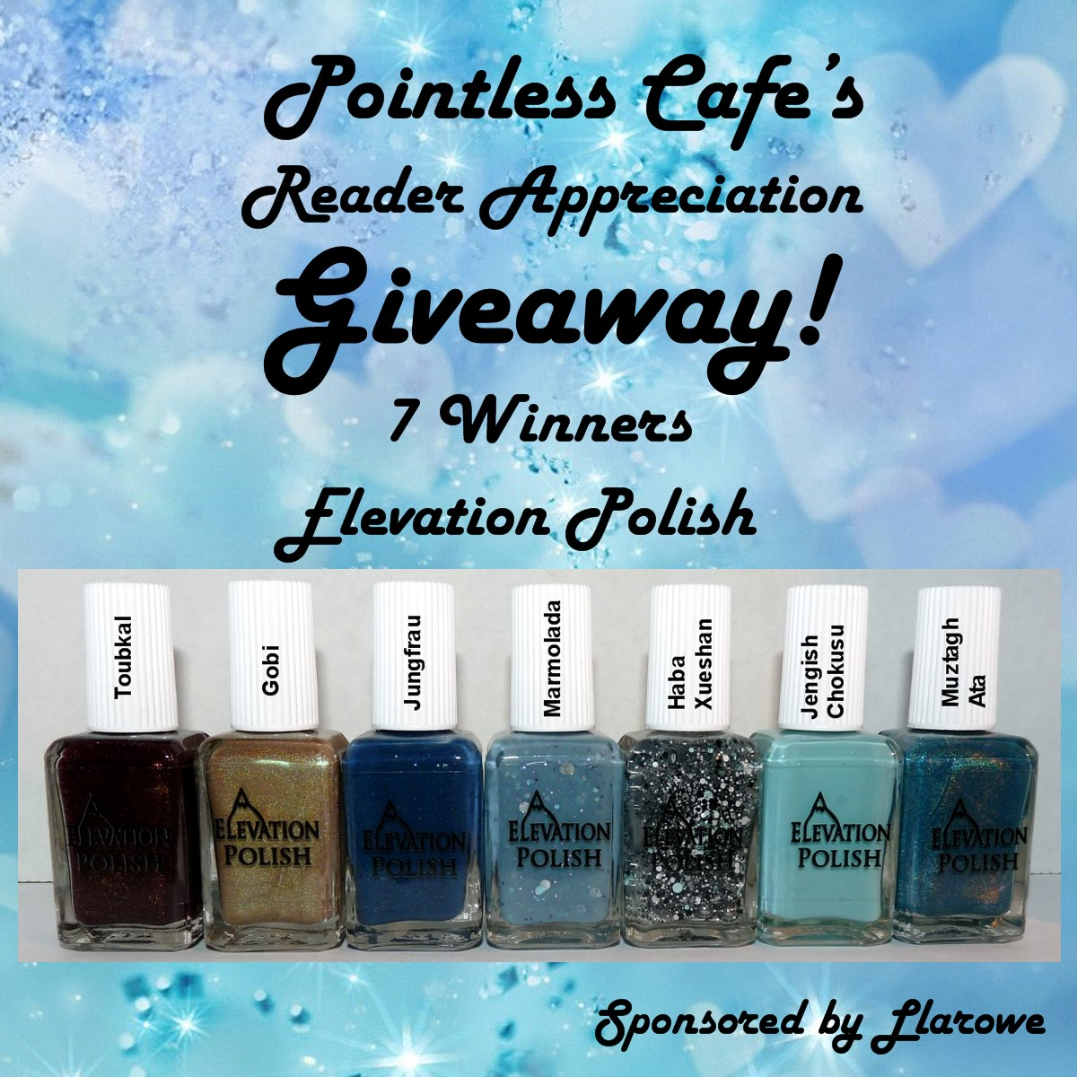 Pointless Cafe's Reader Appreciation Giveaway CONTEST