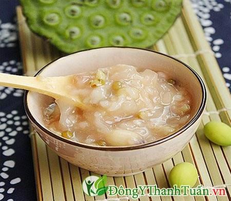 Chè hạt sen tốt cho người chữa viêm loét dạ dày
