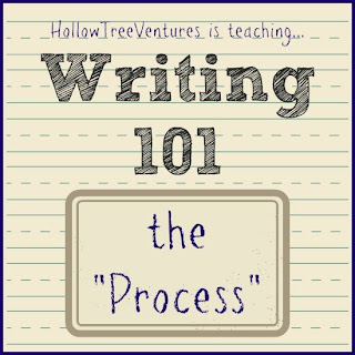 Writing 101 - the Process by Robyn Welling @RobynHTV