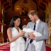 Britain s Prince Harry and his wife Meghan introduce baby son to the world