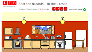 work safety in the kitchen