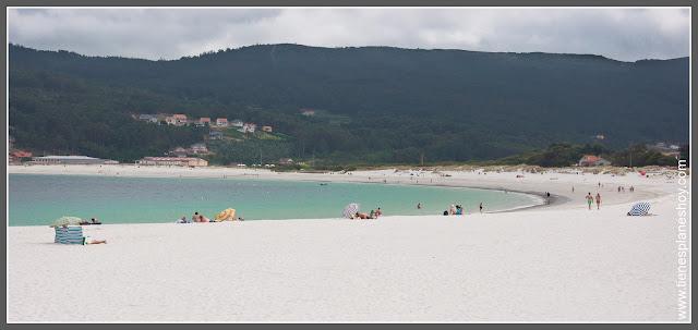 Playas de Galicia: Laxe
