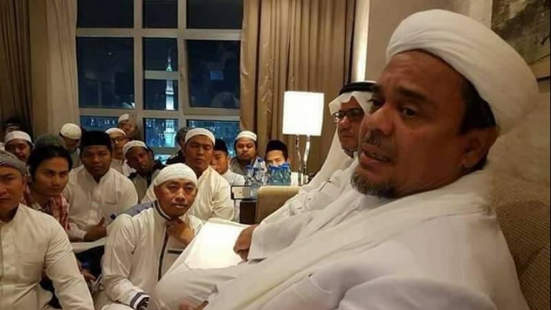 Rizieq saat berada di Madinah