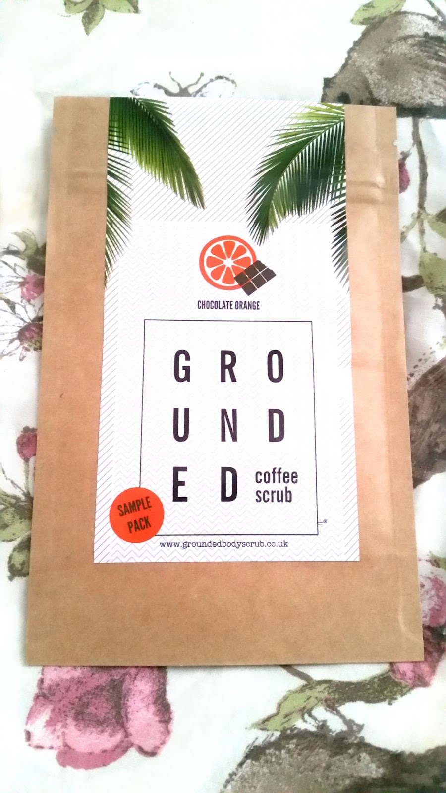 Grounded, chocolate orange, beauty, product review