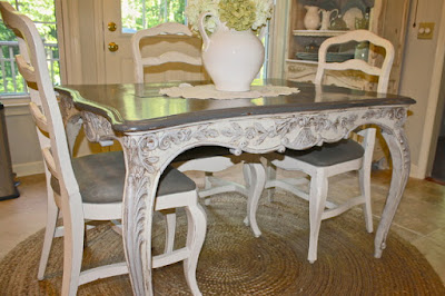 French Country Kitchen Table