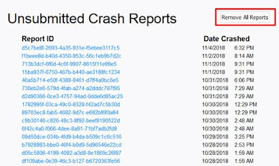 Mozilla Crash Reports