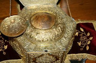 Αποτέλεσμα εικόνας για Η Κάρα του Αγίου βρίσκεται στη Μονή Ξενοφώντος Αγίου Όρους.