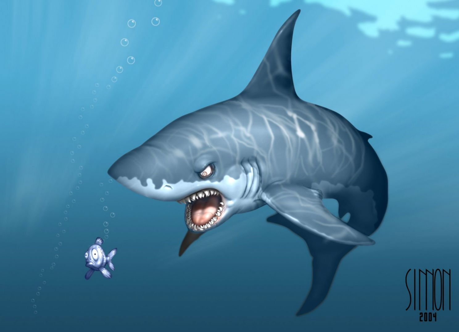 Shark Wallpaper and Background Image 1600x1145 ID50224