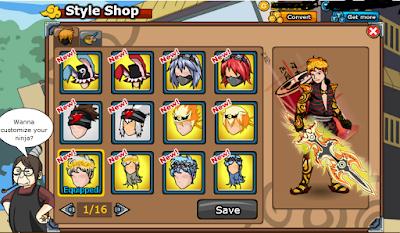 Ninja Saga v0.9.64 Mod Apk